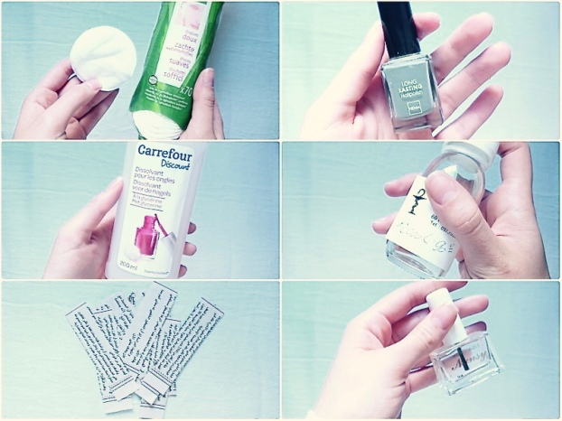nail tutorial collage