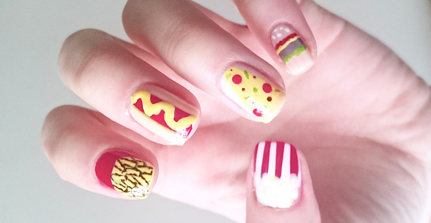 Fast Food Nails\' tutorial! – aminafied.com