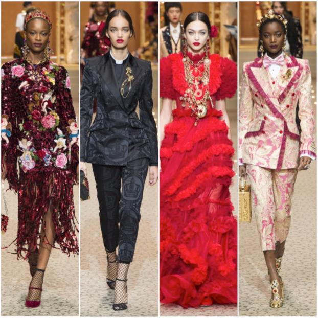 Dolce & Gabbana A:W 2018